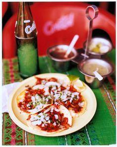 Tacos from Parque de Santa Lucía in Mérida, Mexico