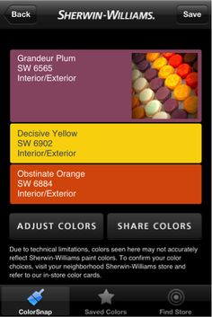 A tray of delicious and colorful macaroons can produce a vibrant color palette for any room in your home with ColorSnap from Sherwin-Williams.