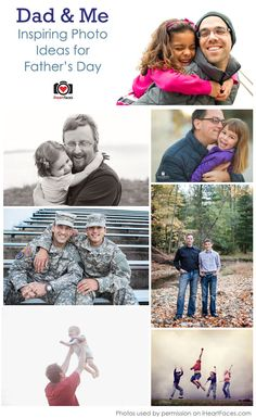 Father's Day Photo Ideas via iHeartFaces.com