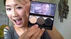 All Purpose Asian Eye Makeup Tutorial 实用款眼妆 [眼妝], via YouTube.