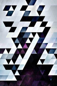 MODYRN LYKQUYR / pattern art by spires / available @ society6