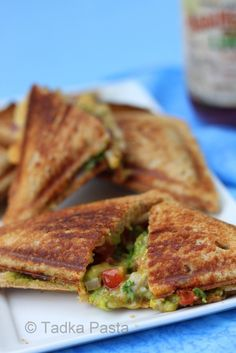 Grilled cheese w/ avocado