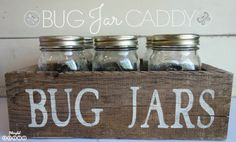 DIY Bug Jar Caddy