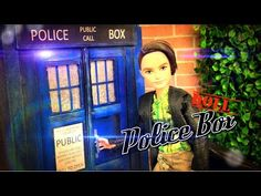 ▶ How to Make a Doll Police Box - YouTube