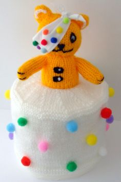 Pudsey Bear Knitting Pattern : Children in Need on Pinterest Teaching Resources, Marzipan and Children