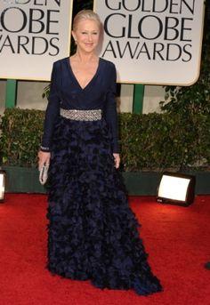 Dame Helen Mirren in Badgley Mischka