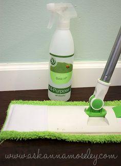 Cleaning Hardwood Floors.
