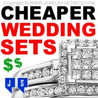 ► ► The Trend to make Cheaper Wedding Sets! Who Wins? Not You!
