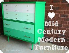 I heart Mid Century Modern Furniture