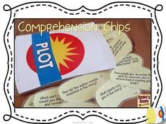 Comprehension Chips - Have some fun with reader response questions!  Makes the perfect partner activity, guided reading activity, reading center activity.  Over 135 questions for comprehension and story elements.