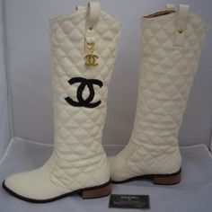 Chanel Cambon Boots