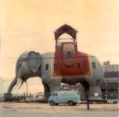 Lucy the Elephant 1960s...Margate NJ