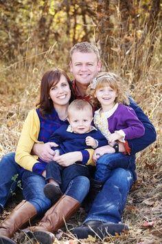 posing families of 4