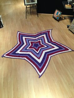 Super Star Baby Afghan Pattern - FaveCrafts