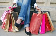 She shopped -- and she dropped! LOL  She must be a successful boutique owner at #KitsyLane. CLICK THRU to start YOUR FREE #KitsyLane business today!