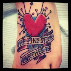 Tim Burton's Voodoo Girl Tattoo :)