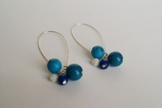 A tutorial to make cute & colorful dangle earrings from Simple Crafter.