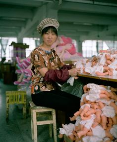 Chinese Factory Workers & the Toys They Make - Full Gallery .....not awesome but interesting enough to stir curiosity