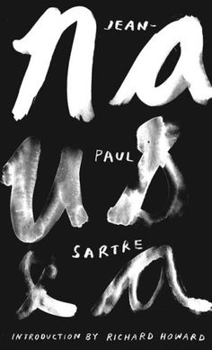 'Nausea' by Jean-Paul Sartre. Designer unknown