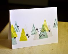 'Tis The Season Card by Maile Belles for Papertrey Ink (October 2014)