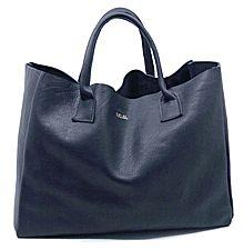iomoi  logo leather tote