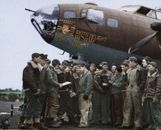 Originally issued to the 332nd BS/94th BG at Earls Colne on 5th June 1943 (the group moved to Bury St Edmunds eight days later), where it was christened IDIOT'S DELIGHT, this bomber was transferred to the 710th BS/447th BG at Rattlesden in April 1944. By then a multi-mission veteran, it survived until it was hit by flak over the Pas de Calais on 19th June 1944. Pilot 2nd Lt Theodore A Milton was forced to ditch the bomber in the Channel, where nine of its ten-man crew perished.