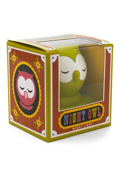 Night Owl night light, variety of colors available - $13