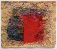 Handwoven tapestry (Silvia Heyden)