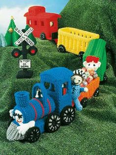 Choo Choo Train - free crochet pattern