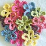 Colorful Crochet Embellishm..