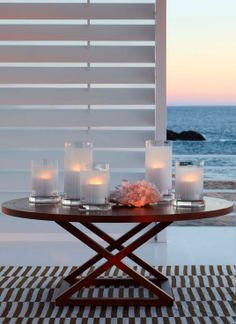 Ralph Lauren Jamaica Dining Table & Roderick Hurricanes