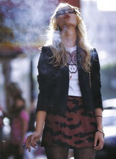 shelby keeton fashion, skirts, style, dress, outfit, bat, animal prints, leopard, smoke