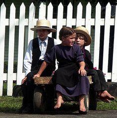 Amish children USA