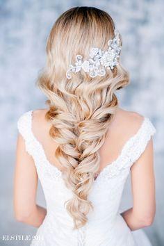 soft bridal, long hairstyles, bridal long, ombre hair, weddings, bridal hairstyles, braids, braided hairstyles, wedding hairstyles