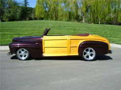 1947 FORD SPORTSMAN CUSTOM WOODY CONVERTIBLE