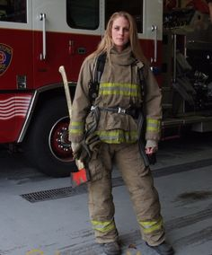 Women Firefighters for the win!!! It's harder for a woman to be a good firefighter than a man.