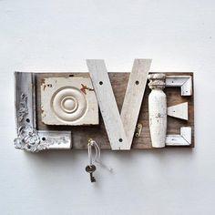 salvaged LOVE