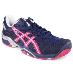 Asics Women`s Gel Resolution 4 Eclipse/Beetroot Purple Shoes