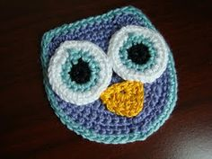Crochet - Owl Applique craft, crochet toy, crochet owls, owl appliqu, applique patterns, appliques, crochet patterns, crochet appliqu, owl patterns