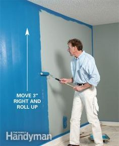 Painting: How to Paint a Room Fast - Article | The Family Handyman