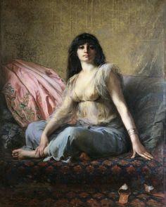 Gaston Casimir Saint-Pierre (1833 - 1916) - The Sultana