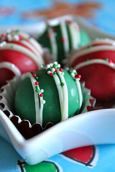 Baked Perfection: Christmas Cookie Dough Truffles