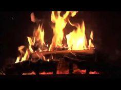 Fireplace set to Christmas Music christmas music, fireplac set, christma music, cottag christma
