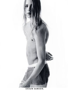 Erik Andersson front the Spring/Summer 2013 campaign of Shaun Samson, shot by Christian Oita.
