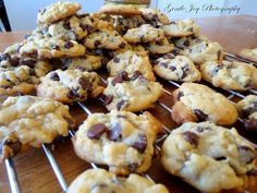 Gentle Joy Homemaker: Buttery Chocolate Chip Cookies