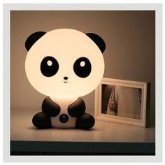 Cute Panda Baby Nursery Bedside LED Lamp Night Light