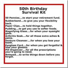 50th Birthday Gift Ideas | DIY Crafty Projects.  Need to do this for my DH's 40th at the end of the month. :)