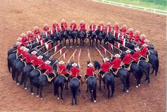 The RCMP Musical Ride :)