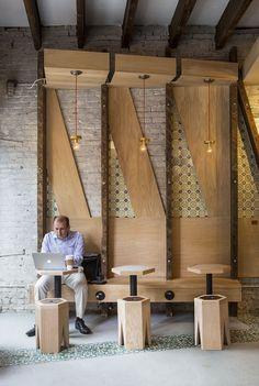 Iconic Cafe /studio vural New York, NY interior, studio vural
