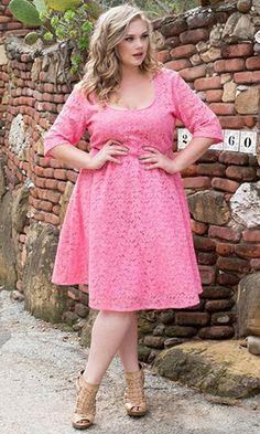 Pink Plus Dress
